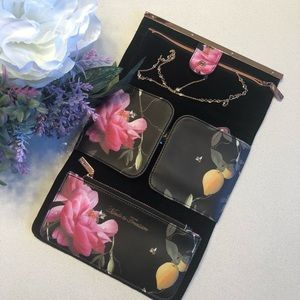 🌺 Ted Baker Jewelry Travel Case